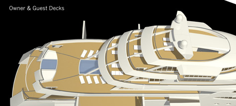 NVC 85 Y - Nobiskrug and Rolls Royce Marine 85m Superyacht Project