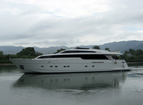 Superyacht Mentxu Launched By Sanlorenzo