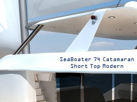 SeaBoater Catamaran 74