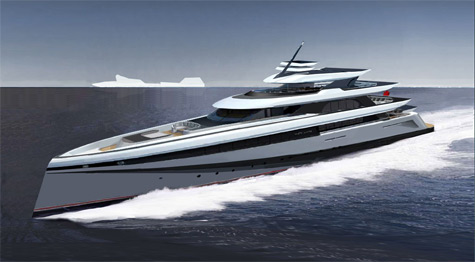 Zero Carbon Megayacht Transcendence: Green And Fast