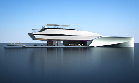 The 66 Meter Superyacht Ra Concept By Adan Voorhees