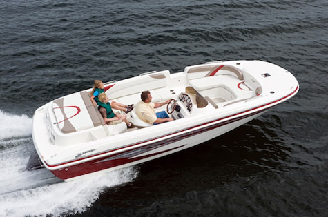 Glastron Produces First Boat At New Cadillac Michigan Plant