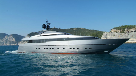 Superyacht Lena: Recognizable Style With Sporty Lines