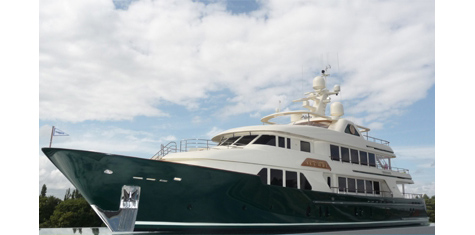 The Superyacht Sea Owl Launched By Burger Boat