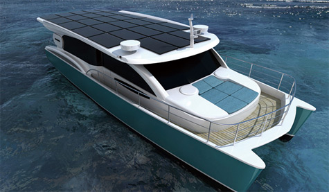 SunCat 46: The First Serial Luxury Catamaran Powered By 100% Solar Energy