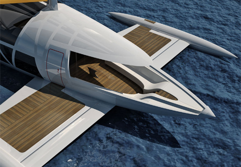 The Flying Yacht