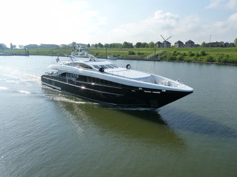 Heesen Yachts Launched The 37m Superyacht Perle Noire