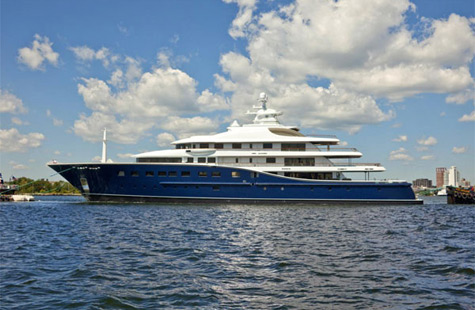 Cakewalk: The Largest Superyacht From The USA