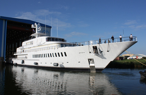Musashi Yacht Feadship XL 88 Launched By Feadship
