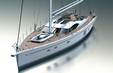 Oyster 885. Humphreys Yacht Design, which was officially founded in the year ...