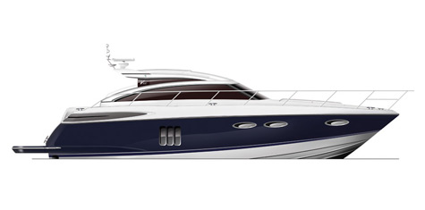 Princess Yachts Presents Three New Yachts At The PSP Southhampton International Boat Show