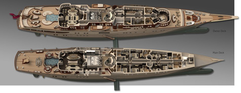 111m Motor Yacht Vintage