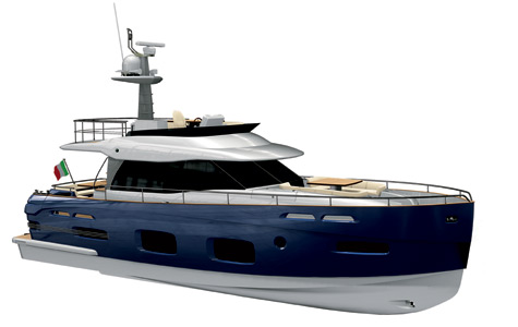 "Magellano 50: The First Of The ""New Classic"" Motor Yacht By Azimut"