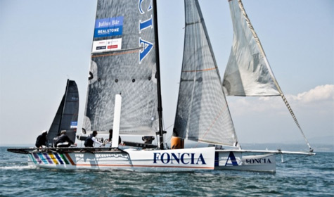 The New Sailing Yacht Foncia IMOCA 60 Launched For Michel Desjoyeaux