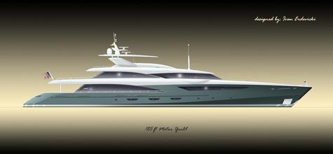 Ivan Erdevicki 185 ft motor yacht