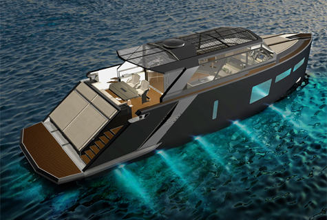 The High-End Yacht Magellan Space: Luxury Lifestyle, Noble Materials And Innovative Hightech Components