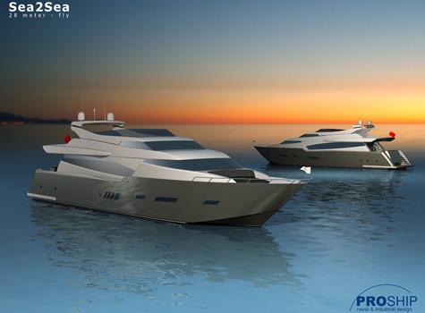 Pro Ship 28m Fly