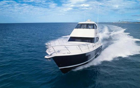 Rivera 61 Enclosed Flybridge. It amazed us how well the space is utilized on ...