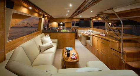 RiRivera 61 Enclosed Flybridge