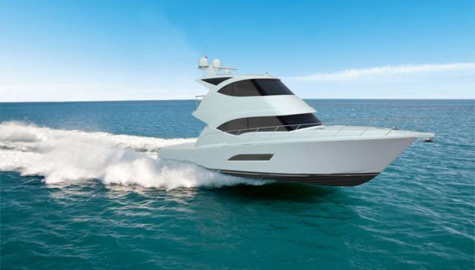 New Riviera 53 Enclosed Flybridge