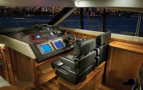 Many innovative choices have been included with the Riviera 5800 Sport Yacht ...