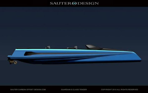 The Guardian S Class Tender Concept By Sauter Carbon Offset Design