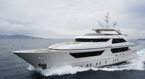 The 46 Steel Superyacht Lammouche By Sanlorenzo
