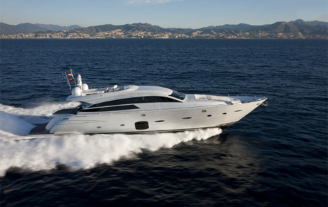 Pershing 92. At the Genoa Boat Show 2010 Pershing, Gruppo Ferretti's brand, ...
