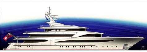 Proteksan-Turquoise Presents The 74m Superyacht NB55 Project