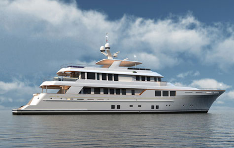The New Superyacht Project BN80 By RMK Marine