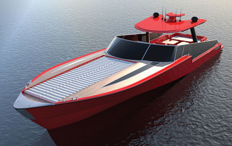 The Yi Momy 50 Power Yacht Concept By Yachting Ideas