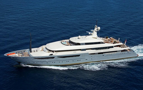 The 72m Superyacht Azteca: The Largest Yacht From CRN