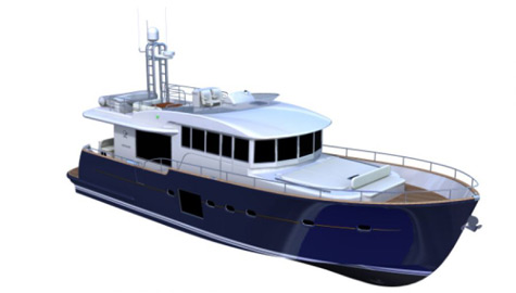 The Estensi 640 Maine Motor Yacht Project