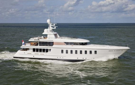 Superyacht Gladiator (ex-Sirius) Is Ready For Charter
