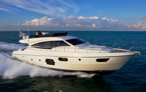 New Ferretti 620 Motor Yacht: A Compact Exterior Line And Excellent Living Solutions