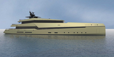Ghost G180H: The First Full Hybrid Superyacht