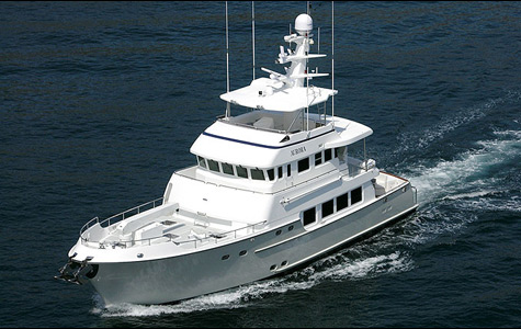 Nordhavn Launched The 76ft Trawler Style Yacht Eliana