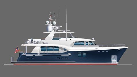 Nordhavn 78: A Contemporary Styled Long Range Motor Yacht