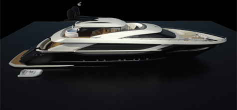 The 39m Opus Motor Yacht Concept By Odyssey Yacht Design