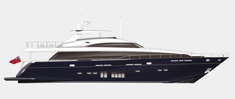 Princess 32M Cruising Yacht: World Premier Of The M Class