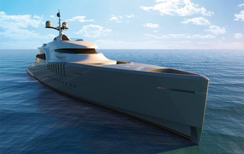 New 80m Superyacht Remora Concept By Claydon Reeves