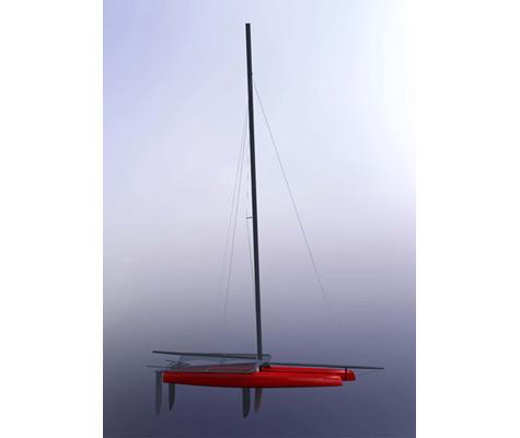 SL 33 Catamaran