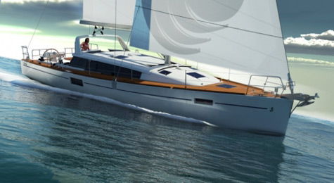 The New Sense 43 Sailing Yacht From Beneteau
