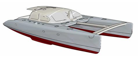 Soubise 70 Carbon Line Catamaran