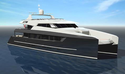 40M Sunreef Power Catamaran