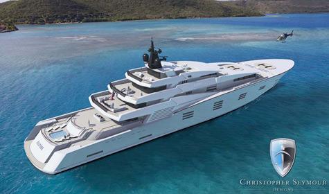 Alpine 122m by Chris Seymour Designs