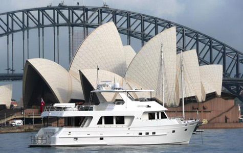 Aroona: New Outer Reef 70 Motor Yacht