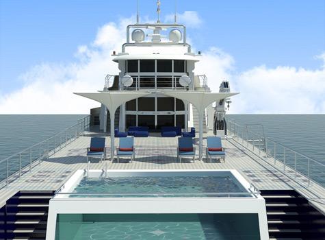 Deck design by Esthec