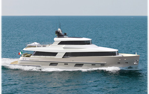 Gamma 24: The First Yacht In Superyachts Series From Gamma Yachts