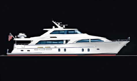 Global 103 Pilothouse design by Cheoy Lee